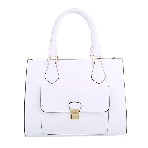 Taschen Handtasche Weiß