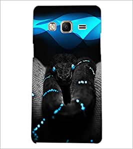 PrintDhaba Venom D-4022 Back Case Cover for SAMSUNG Z3 (Multi-Coloured)
