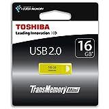 Toshiba TransMemory Mini 16GB USB stick USB 3.0 gelb