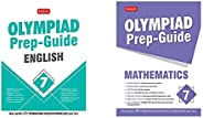 Olympiad Prep-Guide English Class - 7&Olympiad Prep-Guide Mathematics Class - 7(Set of 2 Bo