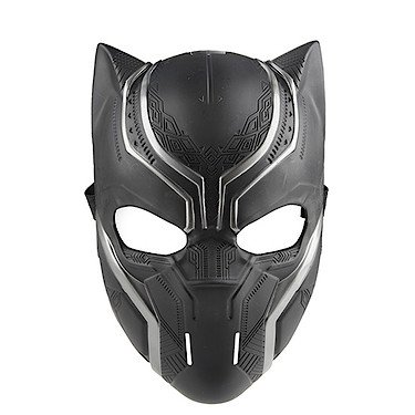 Hasbro B6744 - The First Avenger - Civil War - Rollenspiel-Maske für Kinder - Black Panther (Black Panthers Kostüm)