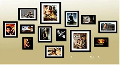 SSQ-CXO Photo Wall Large Multi-Picture European 13 Diamond Diamond Diamond Frame 5 Coloreeei Versione europea del Photo Frame , nero | Eccellente valore  | Costi medi  | Terrific Value  | Grande vendita  | Per tua scelta  | Caratteristico  | Il colore è molto evide 000004