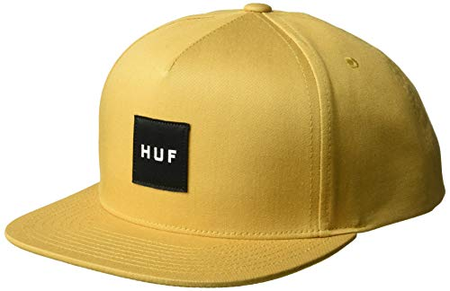 Imagen de huf  box logo mostaza  ajustable alternativa