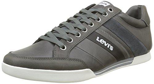 Levi's Turlock Refresh, Scarpe da Ginnastica Basse Uomo, Grigio (Regular Grey), 44 EU
