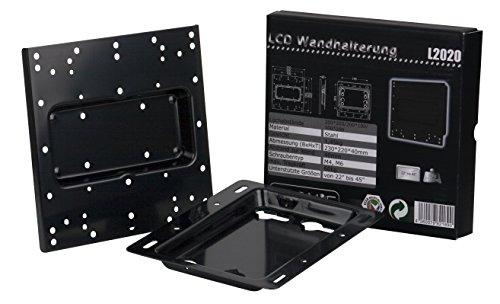 """Tronje L2020 Wand-Halterung für 22""""-45"""" Monitore LED TFT oder größer bis max. 60 KG starre Halterung Vesa 100/200"""