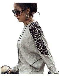 LSWA T3330 Longshirt Pullover Tunika Shirt Batwing Fledermouse Minikleid