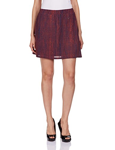 Pepe jeans 8903872659586 Pepe Womens Frills Skirt Bonda Berry M - Price in  India 38e603d07