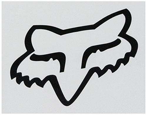 fox-sticker-fox-head-tdc-schwarz-gr-10-cm