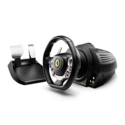 Thrustmaster tx racing wheel ferrari 458 - italia edition (xbox one)