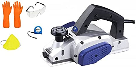ISC Professional Electric Power Planer For Wood Craftsmen & Various DIY Works in Home , Workshop Etc. With Combo Corded Planer (0-82 mm)
