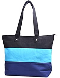 Re-usable Eco Friendly Canvas Material Beach Shopping & Tote Bag Large Capacity.