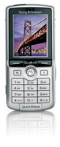 Sony Ericsson K750i silber Handy