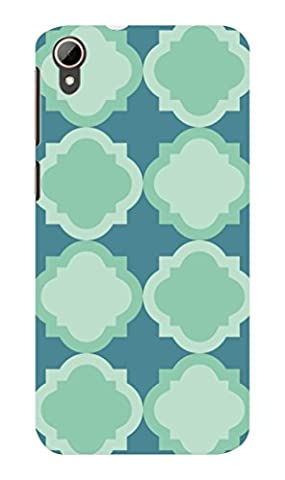 Koveru Back Cover Case for HTC Desire 828 - Snowflakes Pattern