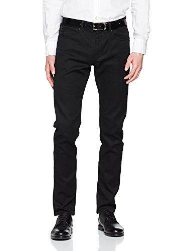 BOSS Herren Straight Jeans Delaware BC-C, Schwarz (Black 002), W31/L30