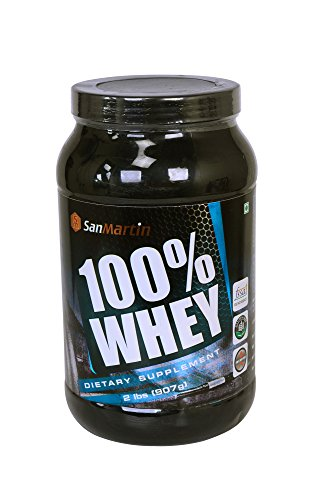 San Martin 100% Whey - 2lbs - Chocolate