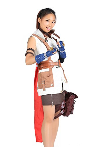 De-Cos Final Fantasy XIII Cosplay Lightning Claire Farron Outfit V1 (Final Kostüme Fantasy Girl)