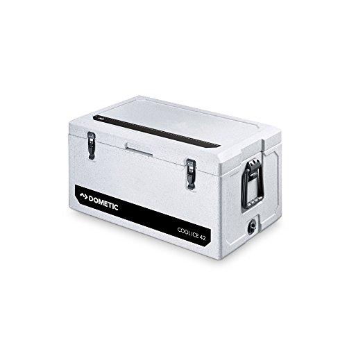 Dometic COOLICE WCI 42 - hochwertige Passiv-Kühlbox, Mini-Kühlschrank, Ideal für Angler und Jäger, Eis-Box in Heavy-Duty-Qualität, 41 Liter Eis Kühlschrank