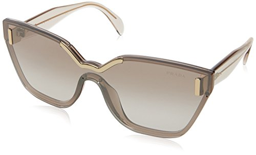 Prada Damen 0PR16TS VIT4O0 48 Sonnenbrille, Braun (Light Brown Silver)