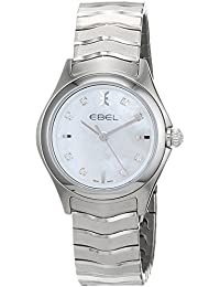 Ebel Womens Quartz Watch, Analogue Classic Display and Stainless Steel Strap 1216193