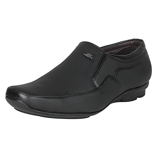 Kraasa Men's Black Formal Shoes -8