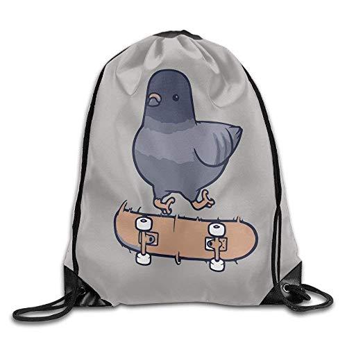 Setyserytu Sporttasche mit Kordelzug, Sportrucksack, Reiserucksack, Drawstring Backpack Gym Bag Travel Backpack, Fashion Skull Pineapple, Womens Bag for Teen Kids pic3 (Skull Schuhe Kids)