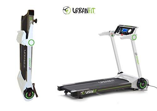 Energy compact 2.0 tapis roulant ultra compatto con inclinazione elettrica - richiudibile slim in 28 cm urban fit