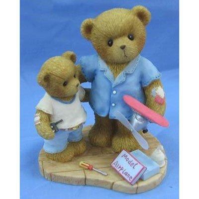 2006 Cherished Teddies Dad, You Help Dreams Take Flight Bear Figurine by Enesco -