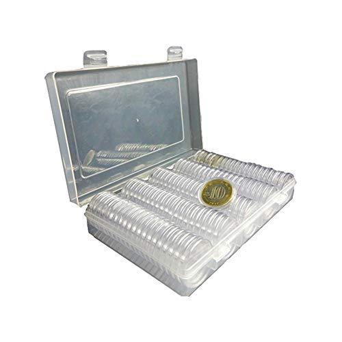 Morningtime Caja De Almacenamiento De Monedas CÁPsulas para Monedas(1