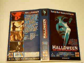 Halloween - Der Fluch des Michael Myers VHS (Halloween Pleasence)