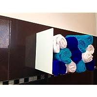 Handtuchhalter weiß Gastro WC Toilette Restaurant Gastronomie Hotel Bar Club