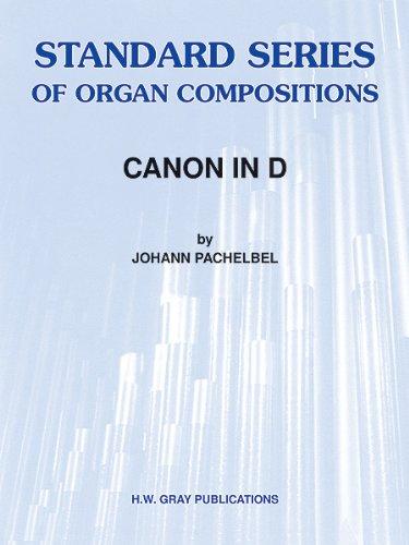 ALFRED PUBLISHING CANON IN D-ORGAN SOLO - ORGAN Klassische Noten Orgel