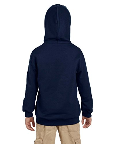 Champion Men's Double Dry Eco Pullover Hood Blu navy