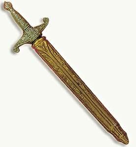 Gurimotex Épée de chevalier en plastique avec fourreau 50 cm