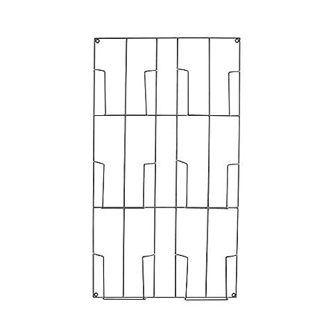 ZWL Newspaper Racks, Livres et journaux Étagères Bibliothèque en fer À plusieurs étages Magazine Rack Salon Chambre Simple Créative 57 * 5 * 102cm mode. z ( taille : 57*5*102cm )
