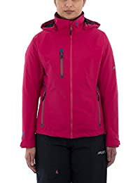 Musto Womens Sardinia BR1 Jacket 2017 - Black/Fire Orange