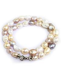 7955d636a80e00 Elodie – grande multi colore perle di patate – Collana di ...