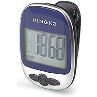 Pingko Podómetro portátil con precisión para correr en pistas deportivas, contador de distancias, contador fitness, contador de calorías-Azul - Cosmética y perfumes - Comparador de precios