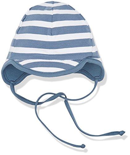 Sterntaler Baby - Jungen Mütze Schirmmütze 1611700, Gr. 45, Blau (Graublau 537)