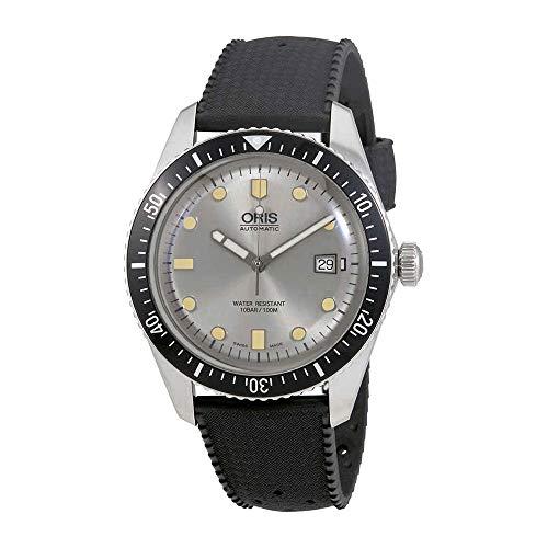 Oris plongeurs Sixty-Five Automatique Cadran Argent Montre pour Homme 0173377204051–0742118