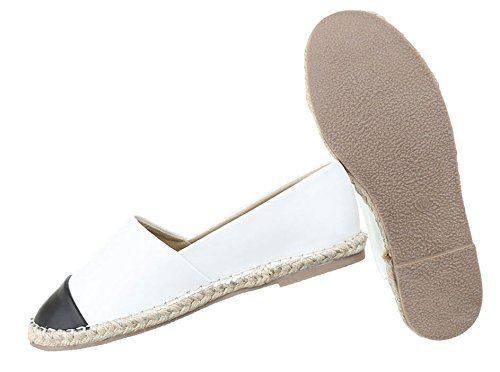Damen Halbschuhe Schuhe Slipper Loafer Mokassins Flats Slip