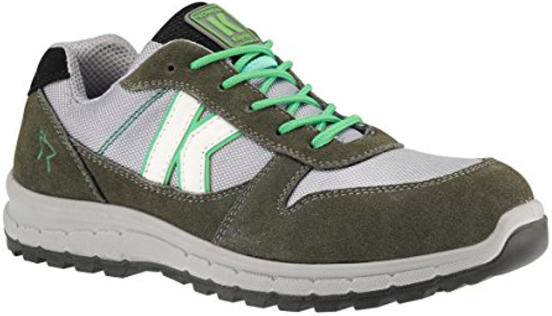Zapatos de seguridad bajos Derby vert-gris Kapriol
