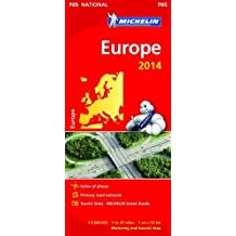 Europe 2014 National Map 705.
