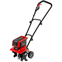"MANTIS 58V Battery Cultivator Rotavator Working width 12""/30 cm - Tilling depth up to 9""/23cm"