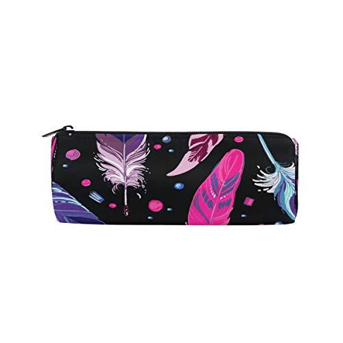 Ahomy - Estuche para lápices, atrapasueños, plumas y abalorios, estilo bohemio, para la escuela, oficina, bolsa de maquillaje para mujeres