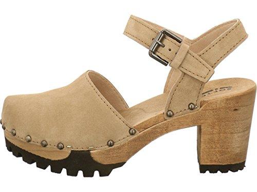 Softclox Sandalette Onda, Farbe: Grau Grau