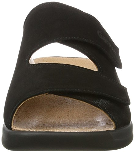 Ganter - Monica-g, Pantofole Donna nero (nero)