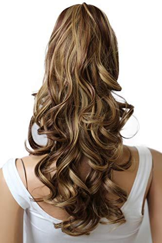 Prettyshop 60cm parrucchino, coda di cavallo, le estensioni dei capelli, resistente al calore ondulato h57b