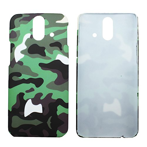 Heartly Army Style Retro Color Armor Hybrid Hard Bumper Back Case Cover For HTC One E8 Dual Sim - Army Green  available at amazon for Rs.220