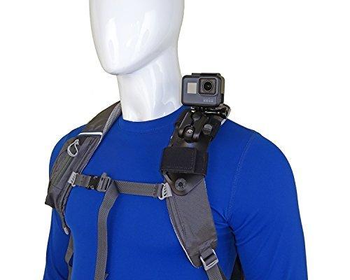 STUNTMAN Pack Mount – Schultergurthalter für Aktionskameras (Pack Accessory Garmin)