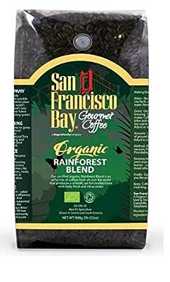 San Francisco Bay Organic Rainforest Blend Whole Bean Coffee 908 g by RJF Farhi